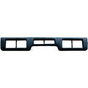 92 96 FORD BRONCO FRONT BUMPER MOLDING SUV, Center, XLT Model (1992 92