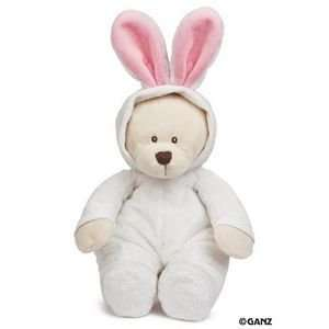 Bunny Jammies Teddy Bear   Baby Plush Toys & Games
