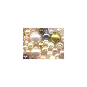 Czech Glass Pearl Bead Mix Arts, Crafts & Sewing