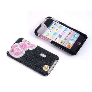 Smile Case Hello Kitty Design Bling Rhinestone Crystal