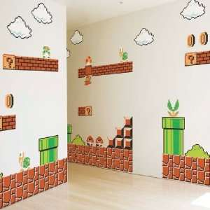 Nintendo Wall Graphics   Super Mario Bros