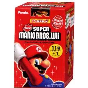 New Super Mario Bros. Wii Choco Egg Furuta Candy Toy 1