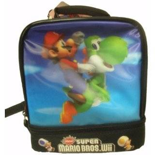 New Super Mario Brothers Wii Lunch Box