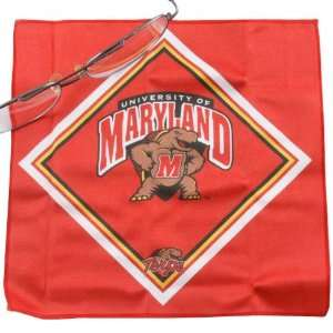 NCAA Maryland Terrapins Microfiber Cleaning Cloth