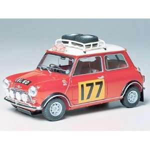 Mini Cooper 1275S Rally Sports Car (Plastic Models Toys & Games