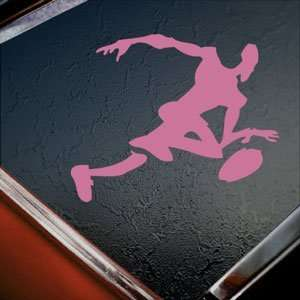 NBA BASKETBALL SPORT Pink Decal Car Truck Window Pink Sticker