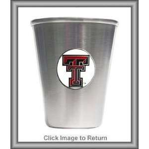 Texas Tech Red Raiders Stainless Steel Shot Glasses