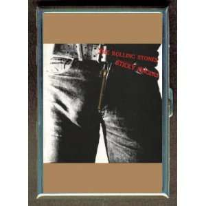THE ROLLING STONES STICKY FINGERS ID Holder Cigarette Case