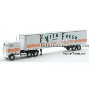 Con Cor N Scale Semi Truck w/45 Trailer   Vita Fresh Toys & Games