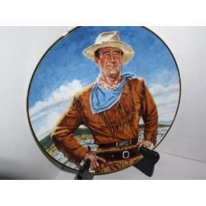 JOHN WAYNE THE DUKE FRANKLIN MINT LIMITED EDITION COLLECTOR PLATE NO