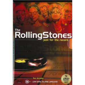 Just For The Record [5 DVD Box Set PAL] Rolling Stones Movies & TV
