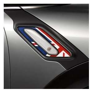 MINI Cooper Countryman Union Jack Side Scuttle Insert (set