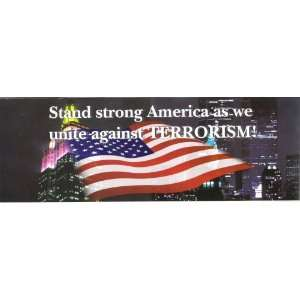 STAND STRONG AMERICA (TYPE 1) decal bumper sticker