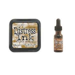 Tim Holtz Distress Rubber Stamp Ink Pad & Re inker Brushed