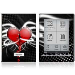 Devil Heart Design Protective Decal Skin Sticker for Sony