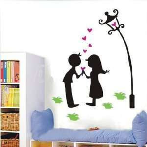 Easy Install Decorative Wall Sticker Decals   Midnight Lovers