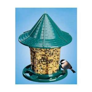 Green Cottage Feeder (Bird Feeders) (Seed Feeders)