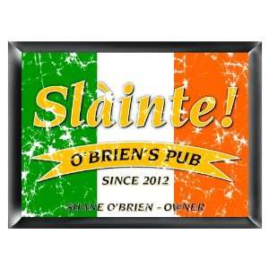 Personalized Pride of the Irish Pub Sign