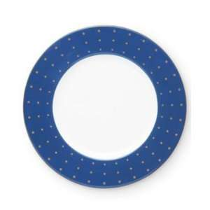 Kate Spade Allison Avenue Navy Accent Plate,  Kitchen