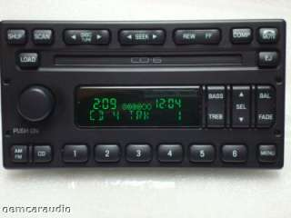 F250 F350 Escape 6 CD DISC CHANGER RADIO 98 99 2000 01 02 03 04