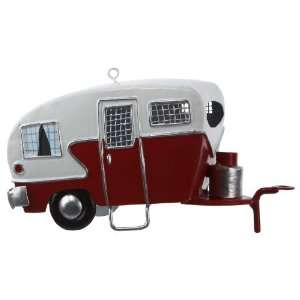 Kurt Adler J1177 Tin Camper Ornament, 4 3/4 Inch