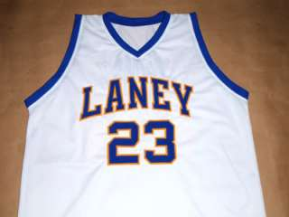 MICHAEL JORDAN LANEY HIGH SCHOOL JERSEY White NEW   ANY SIZE