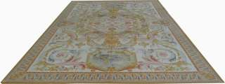 12x18 Oversize Wool French Aubusson Flat Weave Rug~Brand New~Free