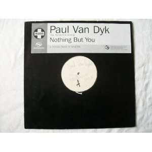 PAUL VAN DYK Nothing But You 12 white label Paul Van Dyk Music